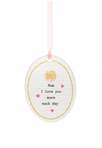 Thoughtful Words Oval Hanging Plaque Mother's Day
