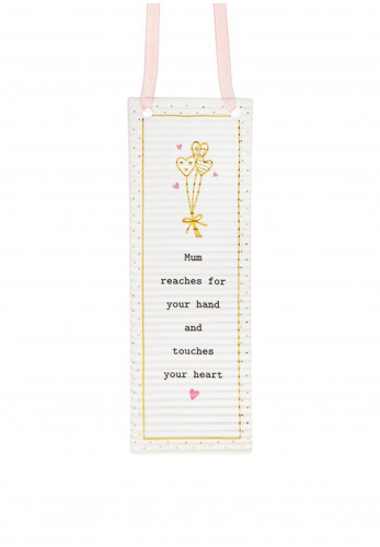 Thoughtful Words Rectangle Hanging Plaque Mum/Hand