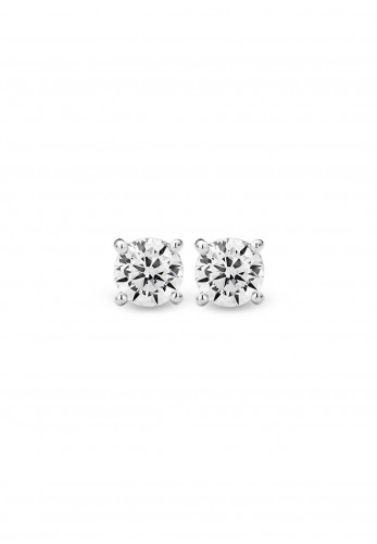 Ti Sento Silver Stud Earrings