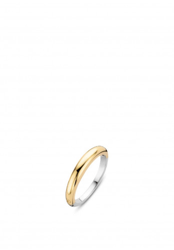 Ti Sento Milano Duo Plated Ring 12104SY, Gold & Silver