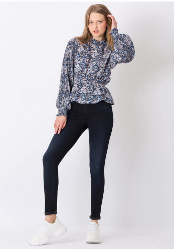 Tiffosi Womens One Size Double Up Jeans, Dark Navy