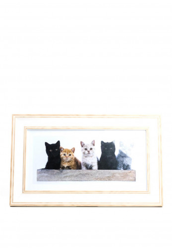 Timeless Designs Panorama British Shorthair Kittens, Oak White