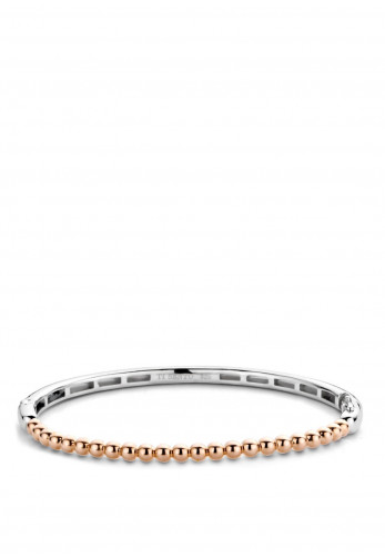 Ti Sento Milano Bubble Bangle Bracelet, Rose Gold