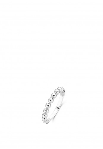 Ti Sento Milano Bubble Ring, Silver