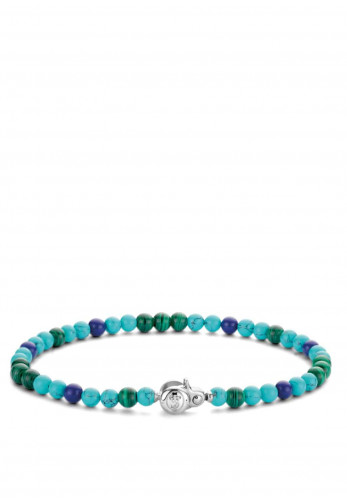 Ti Sento Milano Beaded Bracelet, Blue Multi