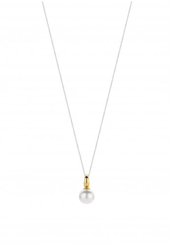 Ti Sento Milano Mother of Pearl Pendant Necklace, Gold