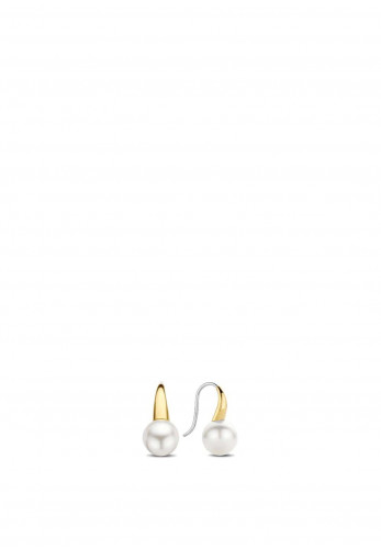 Ti Sento Milano Mother of Pearl French Hook Earrings, Gold