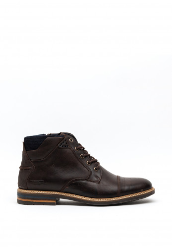 Tommy Bowe Clarkson Leather Boot, Bourneville