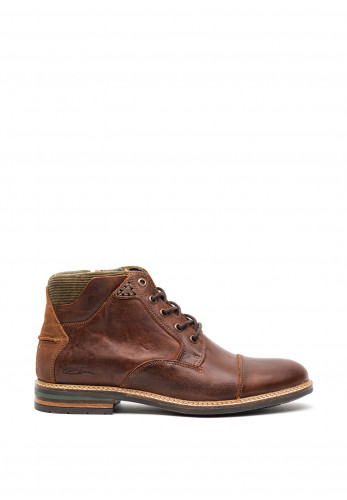 Tommy Bowe Clarkson Leather Boot, Russet