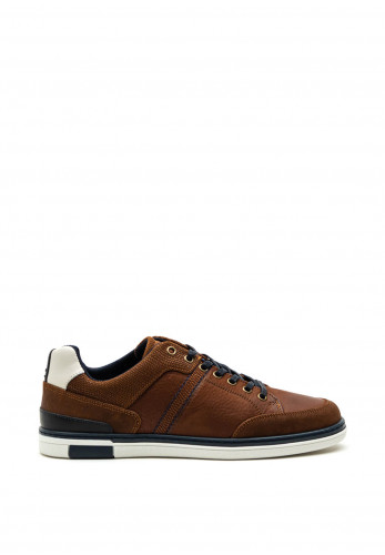 Tommy Bowe Keenan Suede Trainer, Walnut Flair