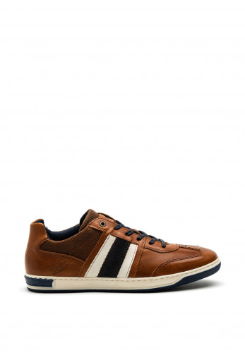 Tommy Bowe Roux Leather Trainer, Amber Syrup