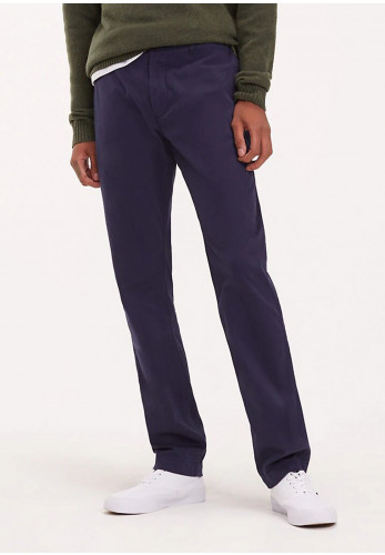 Tommy Jeans Essential Slim Fit Chinos, Navy