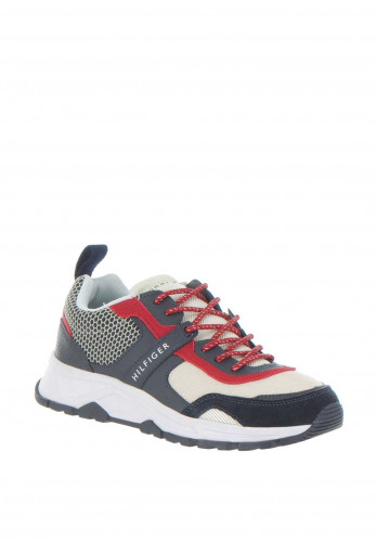 Tommy Hilfiger Men's Lightweight Trainer, Multi