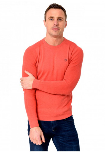 XV Kings by Tommy Bowe Grenfell Knit Sweater, Peach