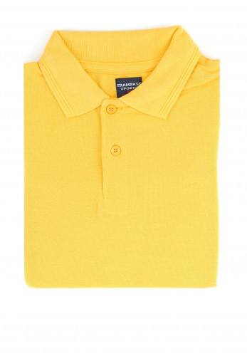 Trampass Kids School Polo Shirt, Yellow