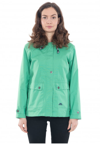 Trespass Seawater Waterproof Jacket, Green