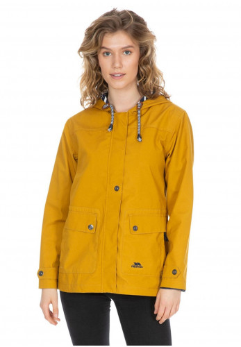 Trespass Seawater Waterproof Jacket, Mustard
