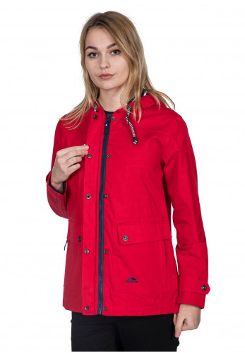 Trespass Seawater Waterproof Jacket, Red