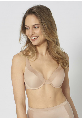Triumph Body Make up Soft Touch Underwire Padded Bra, Nude