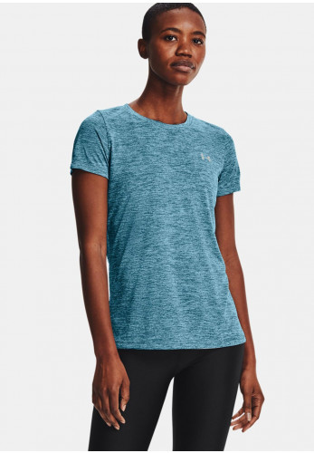 Under Armour Womens UA Twist T-Shirt, Blue