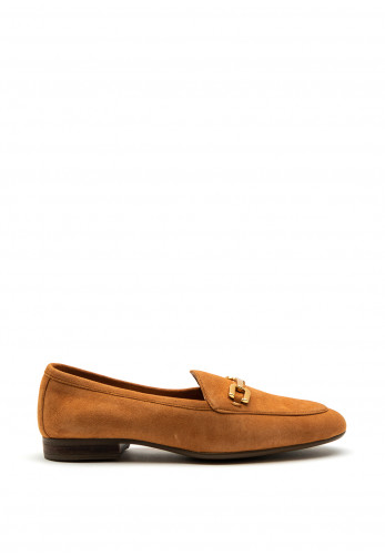 Unisa Dalcy Suede Loafers, Tan