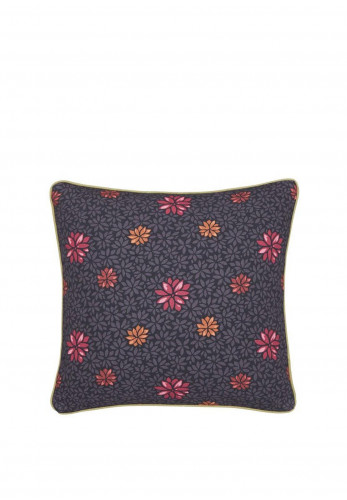 V&A Hawards Garden 40x40cm Cushion, Aubergine