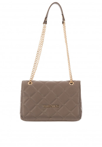 Valentino By Mario Ocarina Quilted Crossover Bag, Taupe