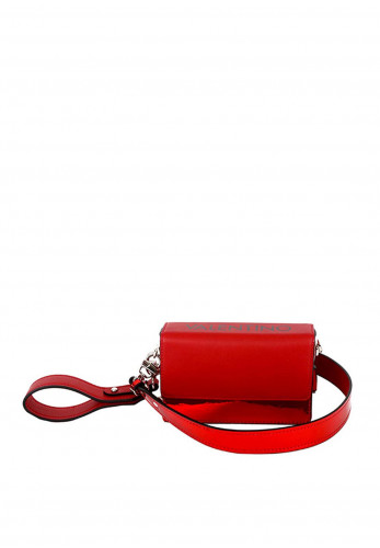 Valentino by Mario Meydani Small Crossbody Bag, Holographic Red