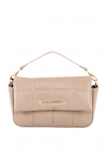 Valentino by Mario Imperia Quilted Crossbody Bag, Taupe