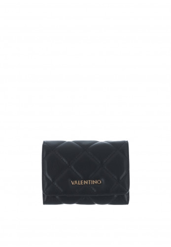 Valentino By Mario Ocarina Quilted Purse, Black