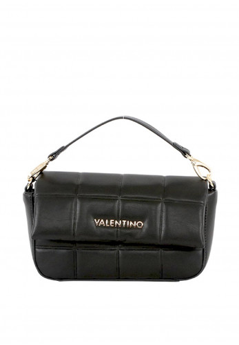 Valentino by Mario Imperia Quilted Crossbody Bag, Black