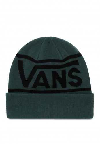 Vans Drop V Stripe Cuff Beanie, Green