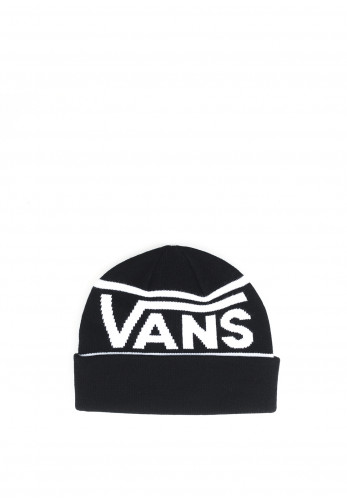 Vans Drop V Stripe Cuff Beanie, Black