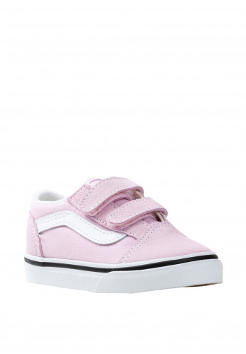 Vans Baby Girls Old Skool Canvas Trainers, Pink