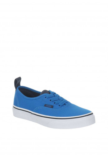 Vans Authentic Boys Canvas Trainers, Blue