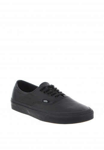 Vans Mens Leather Authentic Decon Shoe, Black