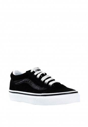 Vans Boys Suede Old Skool Trainers, Black