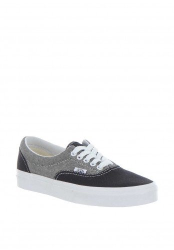 Vans Men's Two-Tone Canvas Trainer, Black