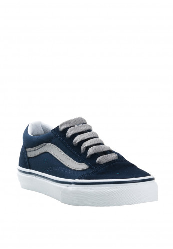 Vans Kids Old Skool Suede Contrast Trainers, Navy