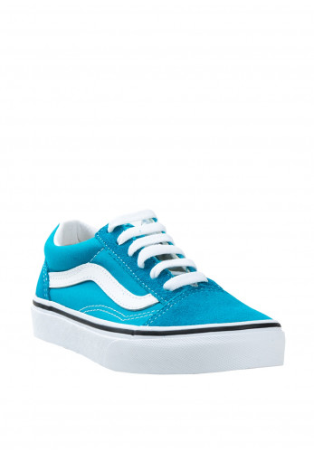Vans Kids Old Skool Suede Contrast Trainers, Blue
