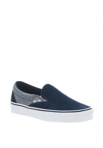 Vans Mens Suede Classic Slip On Trainers, Blue