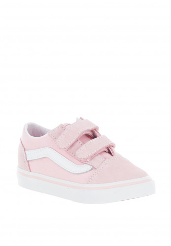 Vans Baby Boys Old Skool Canvas Trainers, Pink