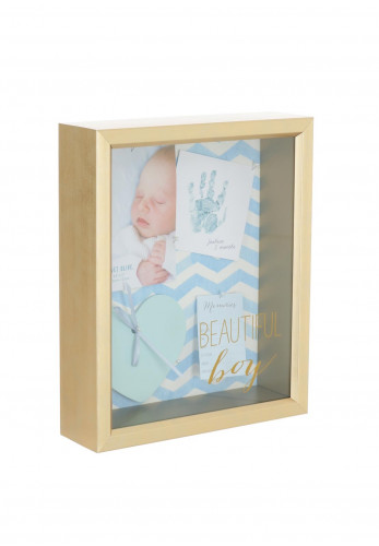 Velvet Olive Beautiful Boy Blue Memory Frame