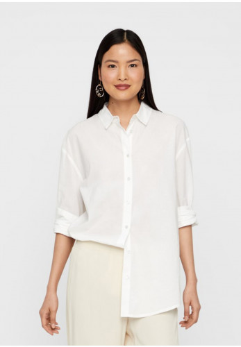Vero Moda Aware India Loose Fit Shirt, White