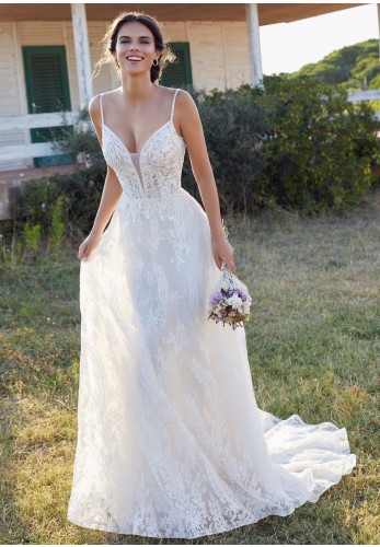 Victoria Jane 18406 Wedding Dress, Ivory/Champagne