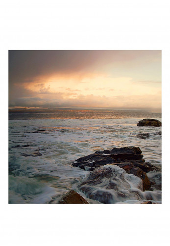 Visions Michael Walsh Donegal Bay 55 x 55cm Frame, Silver