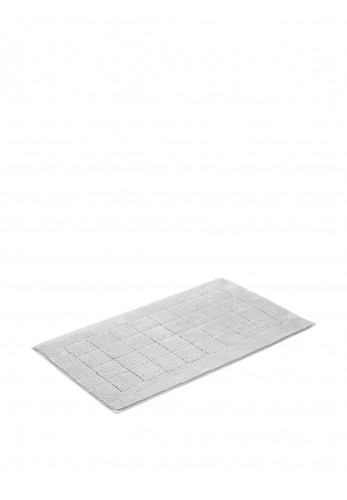 Vossen Anti-Slip Cotton Bathmat Large, Light Grey