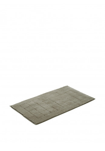 Vossen Anti-Slip Cotton Bathmat Large, Pepplestone