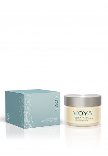 Voya Dream Crème Restorative Night Cream, Palmarosa & Vanilla