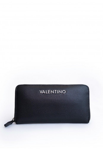 Valentino By Mario Divina Zip Around Purse, Black